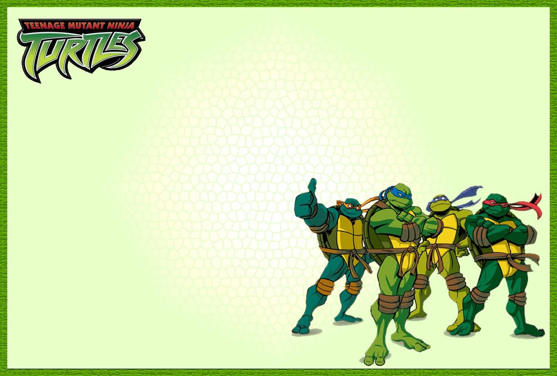 Free Printable Teenage Mutant Ninja Turtle Birthday Invitations - Free Printable Tmnt Birthday Invitation Template