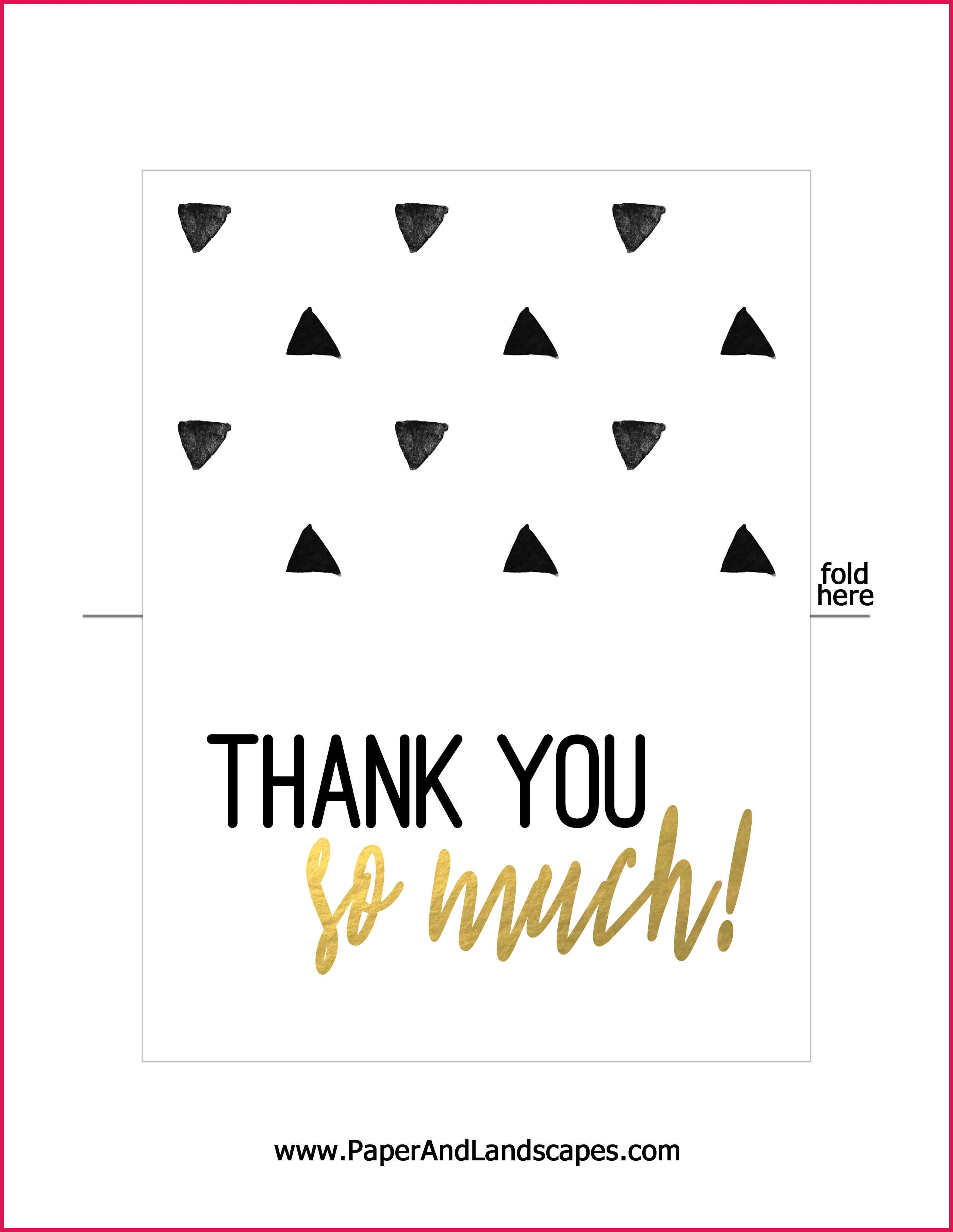 Free Printable Thank You Cards   Sop Examples - Free Printable Thank You