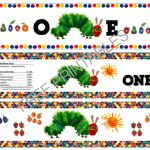 Free Printable: The Very Hungry Caterpillar Birthday Bottle Labels   The Very Hungry Caterpillar Free Printables