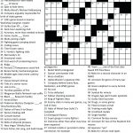 Free Printable Themed Crossword Puzzles – Myheartbeats.club   Free Printable Crosswords