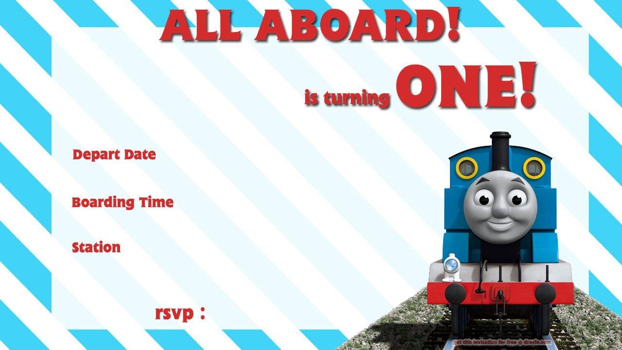 Free Printable Thomas The Train 1St Birthday | Alex Turns 1 - Free Printable Thomas The Train Cupcake Toppers