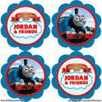 Free Printable Thomas The Train Cup Cake Toppers   Google Search   Free Printable Thomas The Train Cupcake Toppers