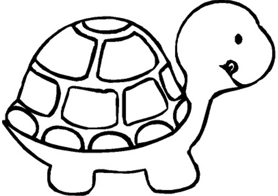 Free Printable Turtle Coloring Pages For Kids | Kuljit All | Easy - Free Printable Coloring Pages For Preschoolers