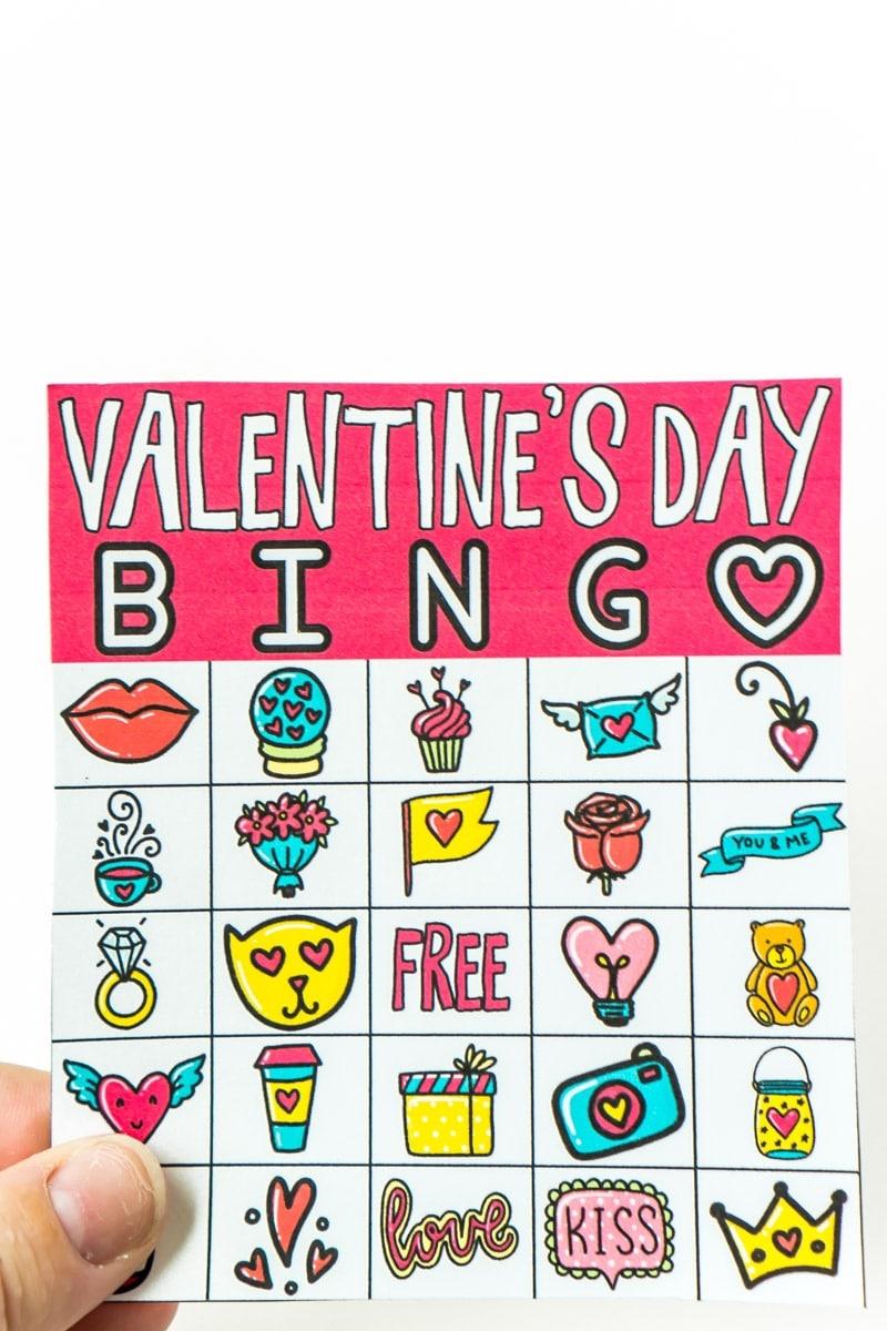 Free Printable Valentine Bingo Cards For All Ages - Play Party Plan - Valentines Bingo Cards Free Printable