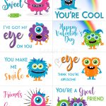 Free Printable Valentine Cards   Sarah Titus   Free Printable Valentines Cards For Son