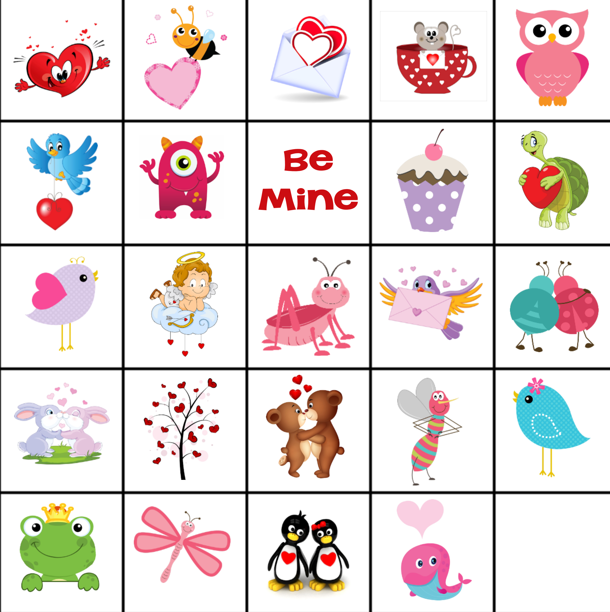 Free Printable Valentine Memory Game - Free Printable Matching Cards