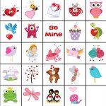 Free Printable Valentine Memory Game | Valentine's Day | Valentines   Free Printable Memory Exercises