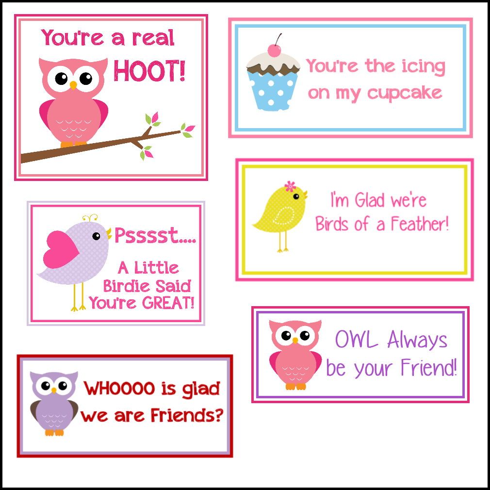 Free Printable Valentine's Cards (A Lot Of Them | Diy-Owl Printabes - Free Printable Valentine Cards