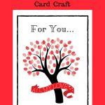 Free Printable Valentine's Day Card Craft + Kid's Mini Cards   Free Printable Valentines Day Cards For Parents