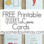 Free Printable Valentine's Day Cards And Gift Tags | Reindeer   Free Valentine Printable Cards For Husband