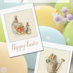 Free Printable Vintage Easter Cards | Bloggers' Fun Family Projects   Free Printable Easter Cards