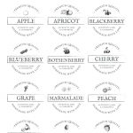 Free Printable Vintage Jam Jar Labels   Free Printable Jam Labels