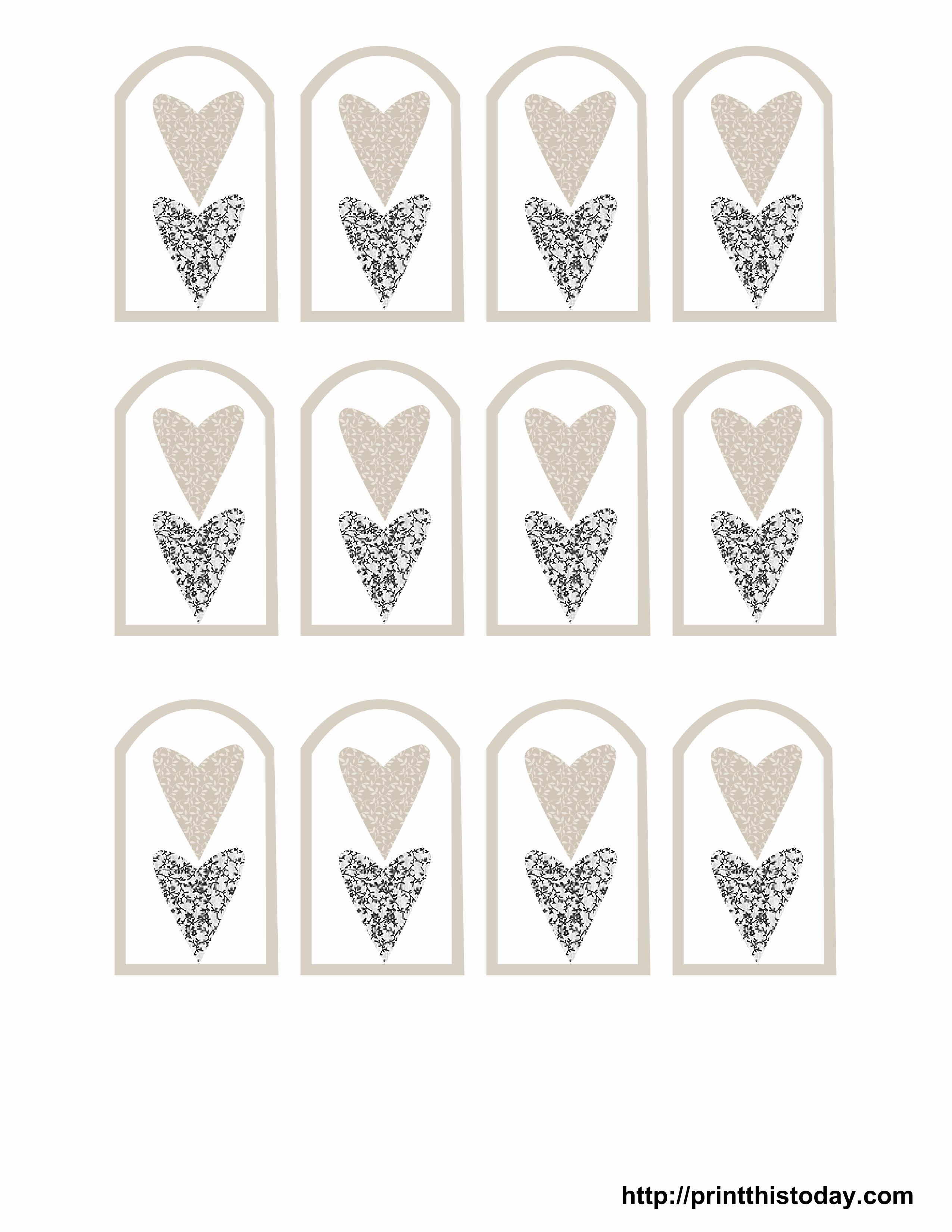Free Printable Wedding Favor Tags – Pictimilitude - Free Printable Wedding Favor Tags
