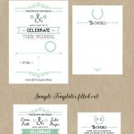 Free Printable Wedding Invitation Template | Wedding | Free Wedding   Free Printable Wedding Invitations With Photo