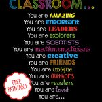 Free Printable   Welcome Back To School, Classroom Printable For   Free Printable Posters For Teachers