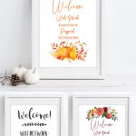 Free Printable Wifi Password Signs For Thanksgiving | Free   Free Printable Wifi Password Template