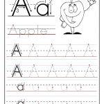 Free Printable Worksheet Letter A For Your Child To Learn And Write   Free Printable Letter Writing Worksheets
