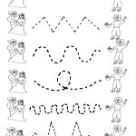 Free Printable Worksheets For Preschool | Preschool Tracing   Free Printable Preschool Worksheets Tracing Lines