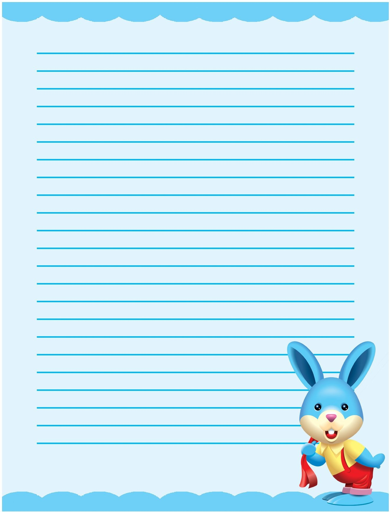 Free Printable Writing Paper, Free Stationery Templates For School - Free Printable Stationary With Lines