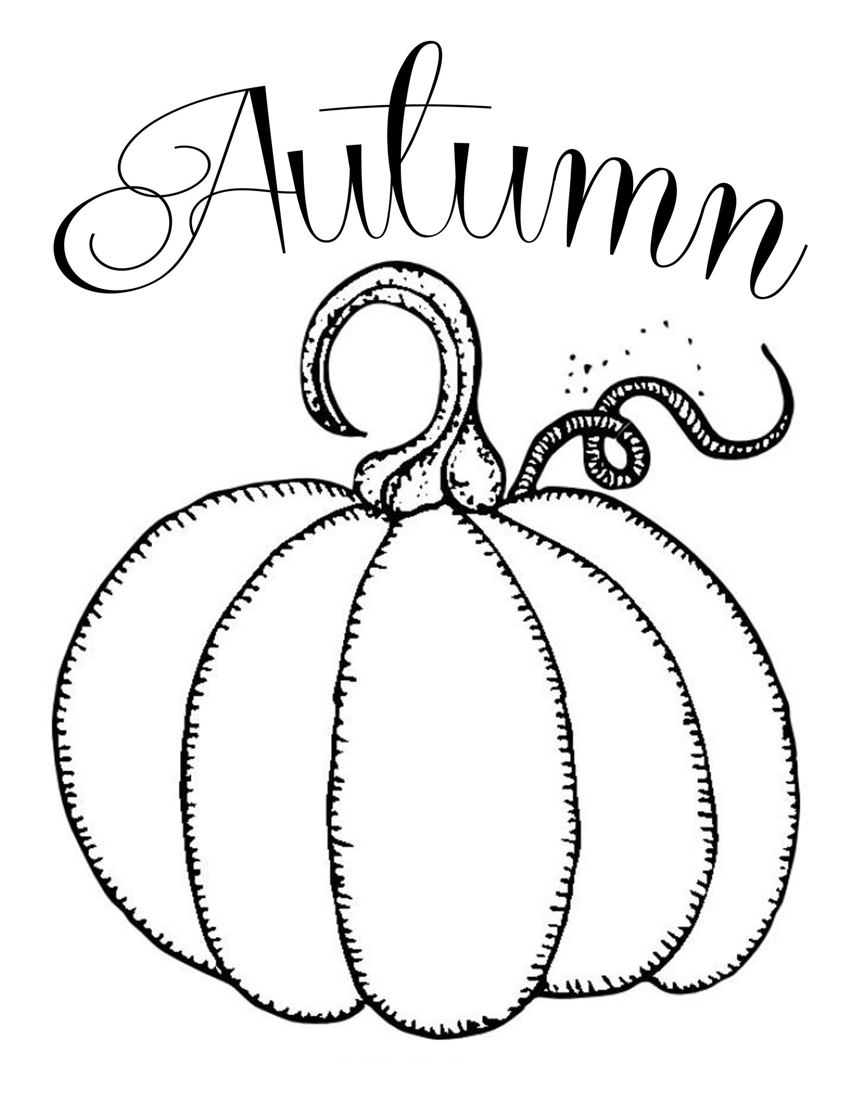 Free Printables ~ Chalkboard Autumn Pumpkin | Fonts And Printables - Free Pumpkin Printables