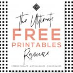 Free Printables • Free Wall Art Roundups • Little Gold Pixel   Free Printable Wall Art Prints