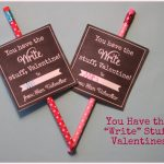 Free Printables}   Valentine's Day Class Cards   Air Heads & Pencils   Free Printable Valentines Cards For Son