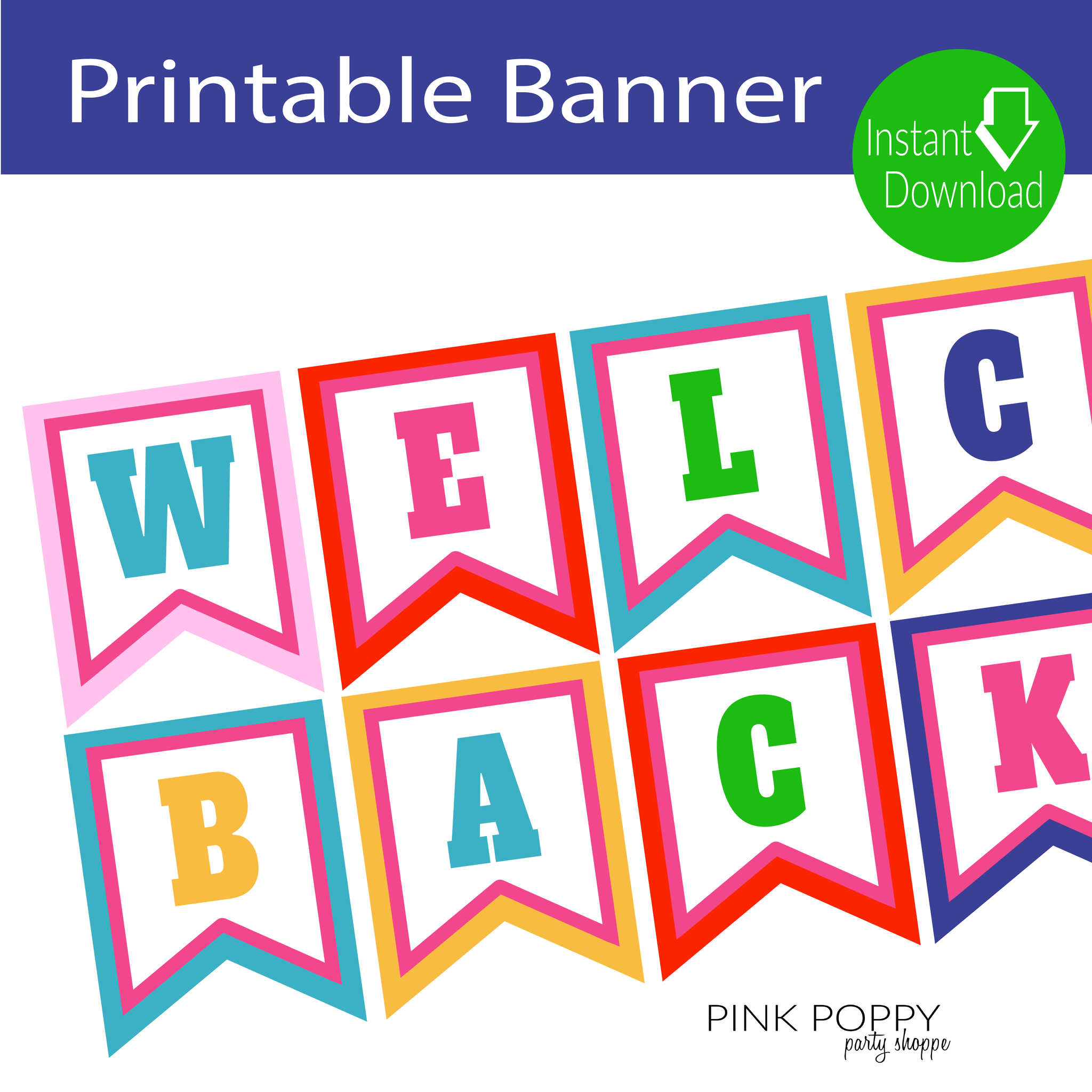 Free Printables} Welcome Back Banner | Shopify Merchant Community - Welcome Home Cards Free Printable
