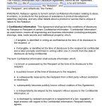 Free Product Development Non Disclosure Agreement (Nda) – Pdf – Word   Free Printable Non Disclosure Agreement Form