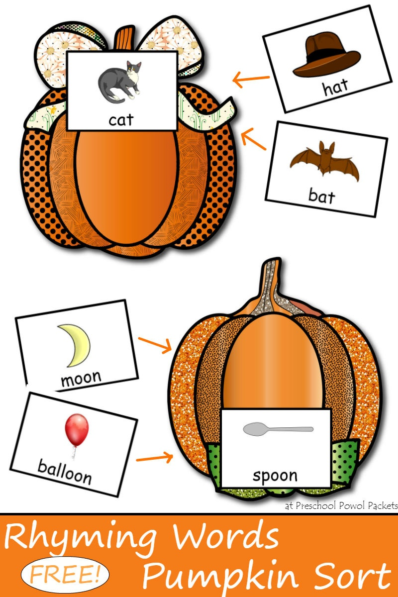 Free} Pumpkin Printables | Preschool Powol Packets - Free Pumpkin Printables