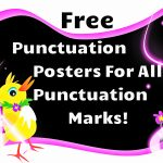 Free Punctuation Posters | Punctuation Posters Free | Readyteacher   Punctuation Posters Printable Free