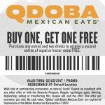 Free Qdoba Coupons Printable 2018 – Printable Coupons Online   Free Printable Coupons 2018