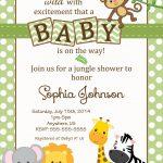 Free Safari Baby Shower Invitations   Google Search | Baby Opie Baby   Free Printable Jungle Safari Baby Shower Invitations