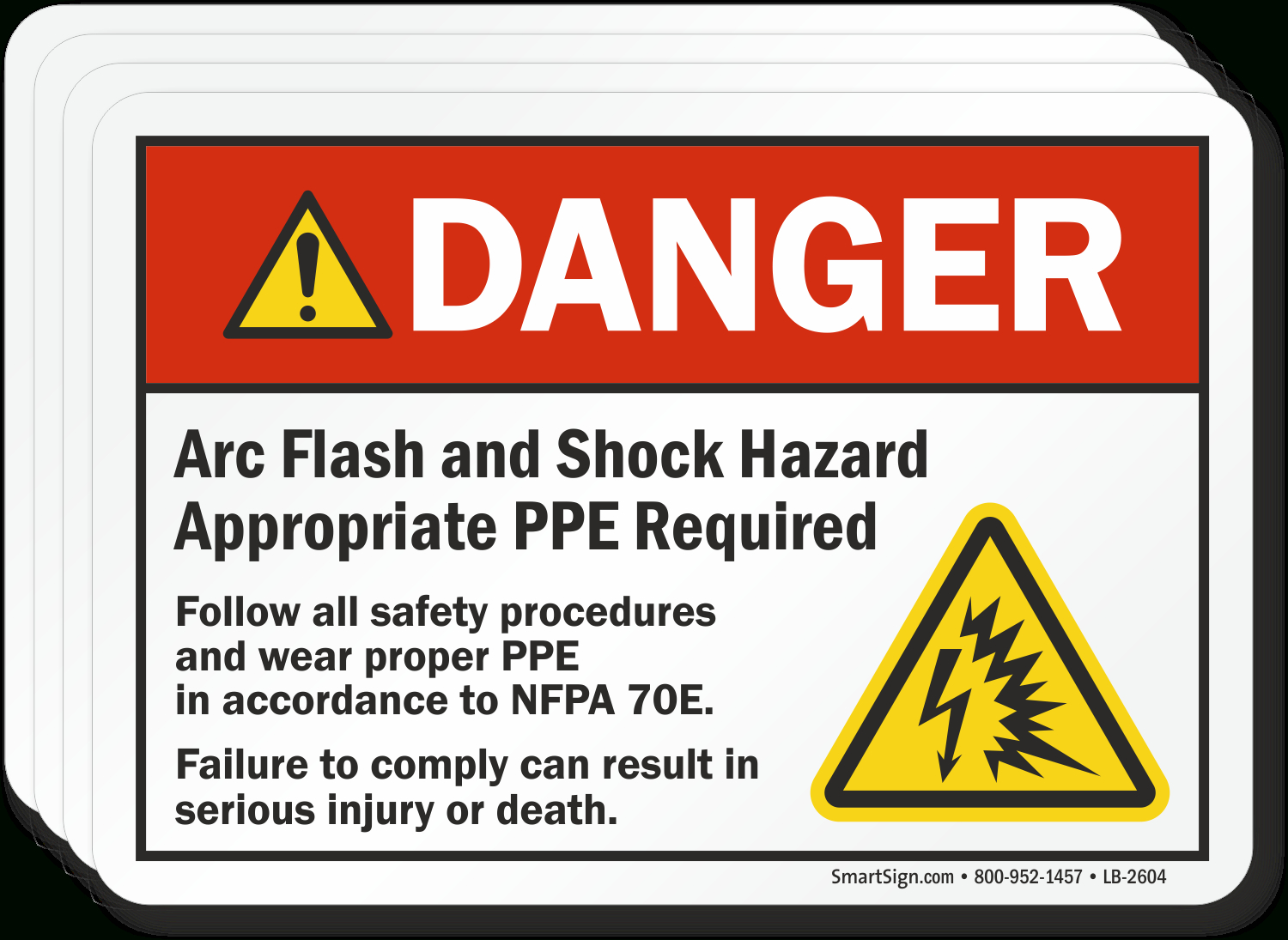 Free Safety Labels | Printable Safety Label Pdfs - Free Printable Out Of Service Sign