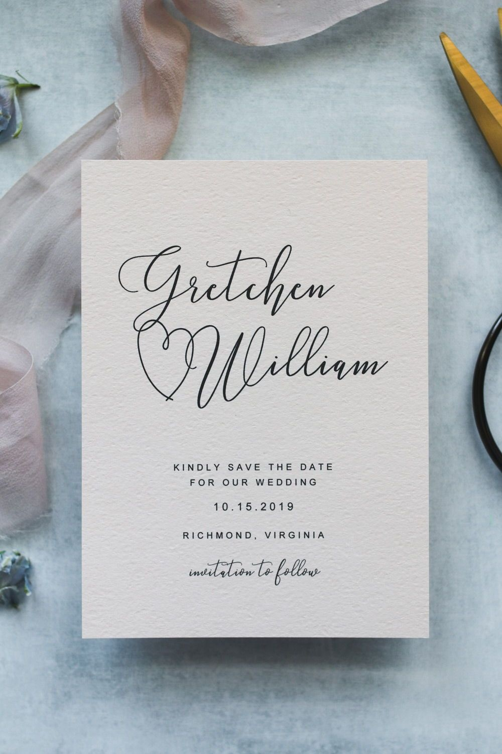 Free Save The Date Templates | Save The Date Ideas | Save The Date - Free Printable Save The Date