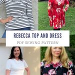 Free Sewing Pattern (3)   On The Cutting Floor: Printable Pdf Sewing   Free Printable Plus Size Sewing Patterns