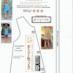 Free #sewing Pattern For 14″ (35 Cm) #dolls @ Chellywood #crafts   18 Inch Doll Clothes Patterns Free Printable