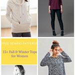 Free Sewing Patterns: 15 + Fall And Winter Tops Patterns For Women   Free Printable Plus Size Sewing Patterns