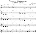 Free Sheet Music Scores: Pomp And Circumstance (Land Of Hope And   Free Printable Sheet Music Pomp And Circumstance
