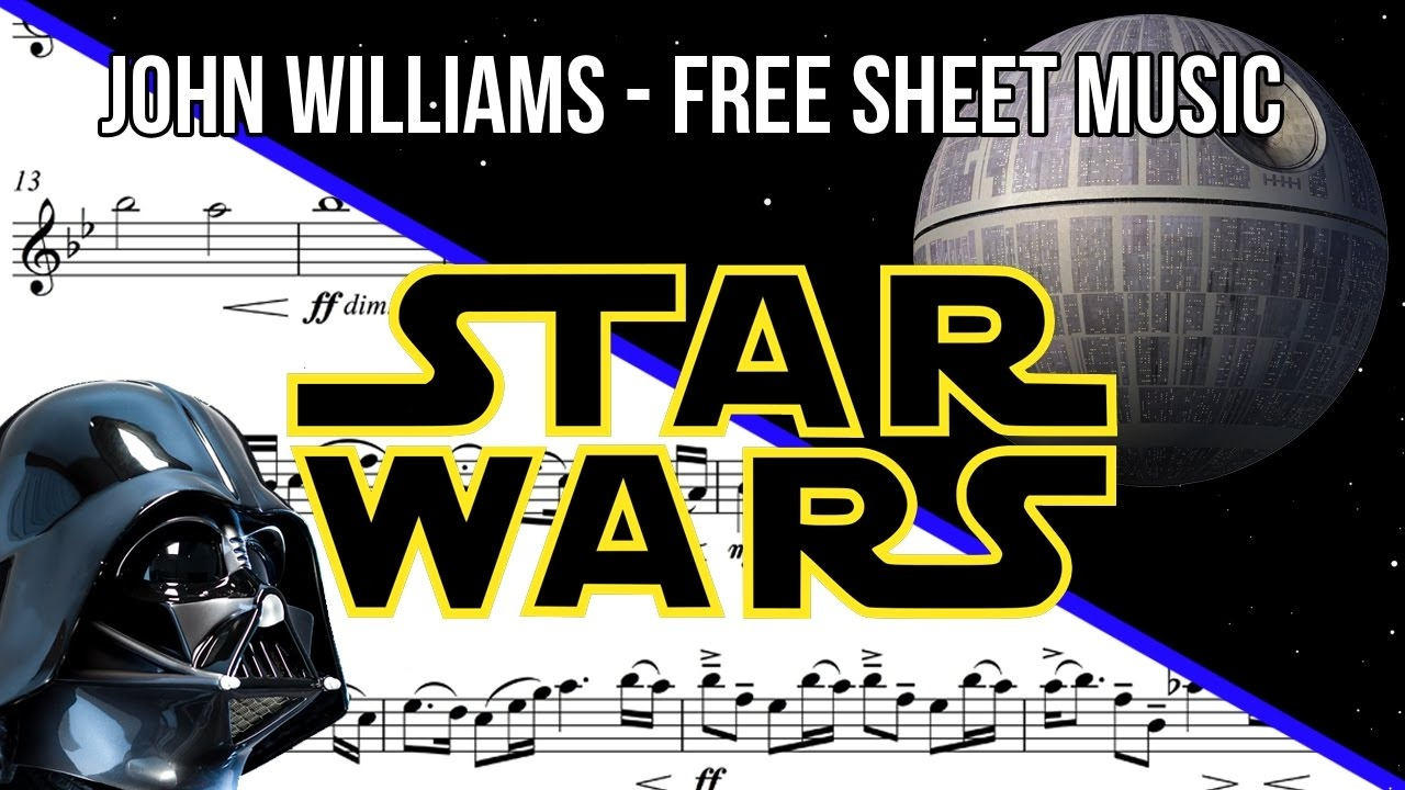 Free Sheet Music: Trumpet - Imperial March From Star Wars] - Youtube - Free Printable Trumpet Sheet Music Star Wars