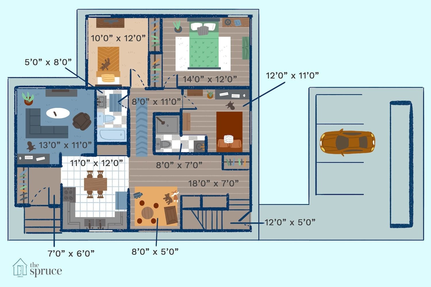 Free Small House Plans - Free Printable Small House Plans