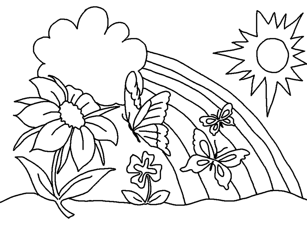Free Spring Coloring Pages, Download Free Clip Art, Free Clip Art On - Free Printable Spring Coloring Pages For Kindergarten