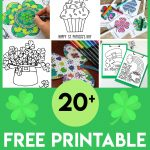 Free St. Patrick's Day Coloring Pages   Happiness Is Homemade   Free St Patrick's Day Printables