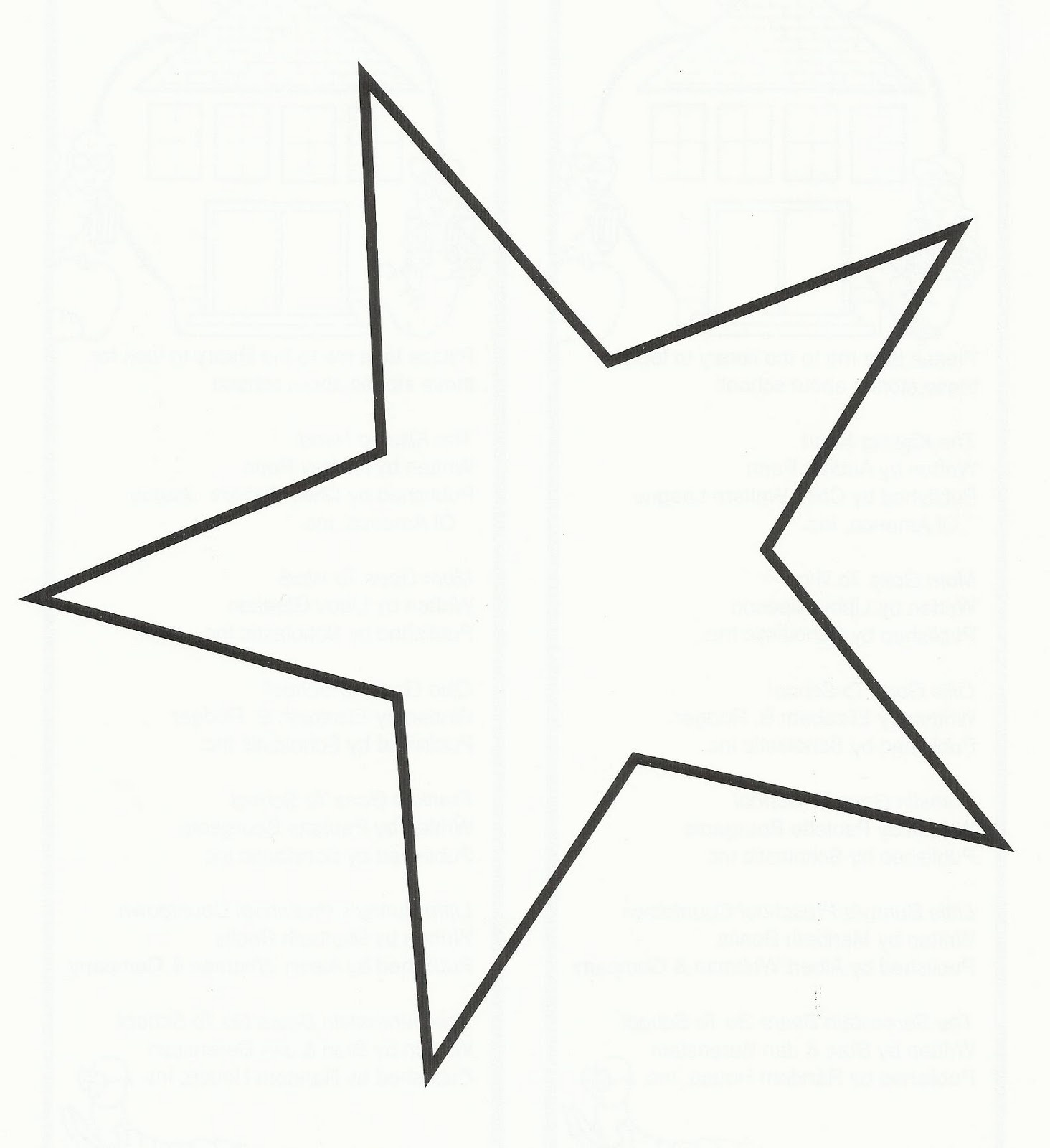 Free Star Outline Printable, Download Free Clip Art, Free Clip Art - Star Template Free Printable