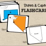Free State Capitals Game | Cc: Misc | Pinterest | States And   State Capital Flashcards Printable Free