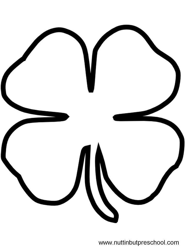 Free Stencils Print Cut Out St Patricks Day | Print Friendly (Click - Shamrock Template Free Printable