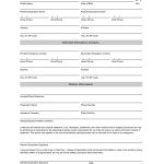Free Student Information Sheet Template | Student Emergency Contact   Free Printable Contact Forms