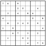 Free Sudoku Puzzles | Enjoy Daily Free Sudoku Puzzles From Walapie   Free Printable Sudoku Puzzles