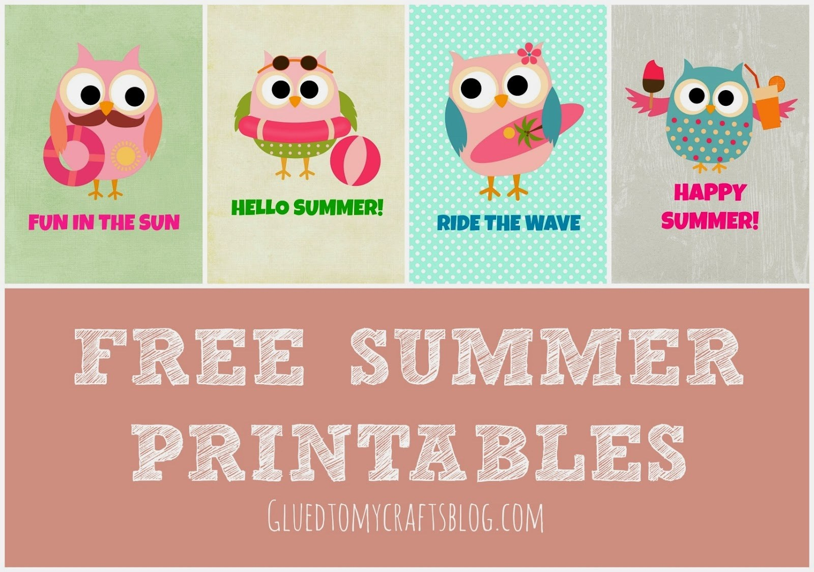 Free Summer Printables - Free Summer Printables