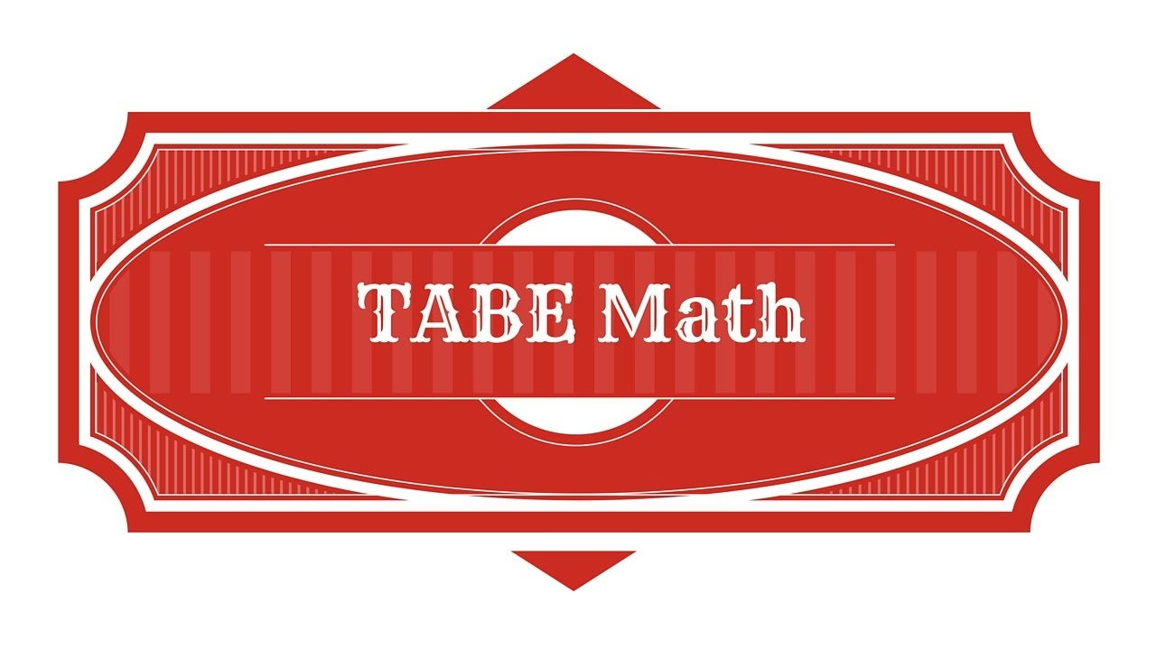 Free Tabe Test Study Guide - Math Practice - Youtube - Tabe Practice Test Free Printable