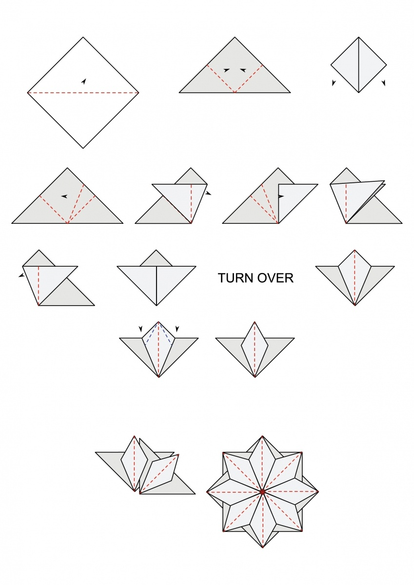 Free Tea Bag Folding Diagrams | Cardmakingandpapercraft - Free Printable Tea Bag Folding Patterns